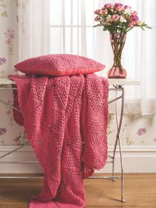 Lottie cushion 43x43cm coral