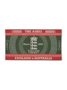 The ashes 2015 bath towel green