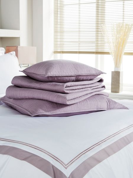 Christy Vibe sham mauve (cover only)