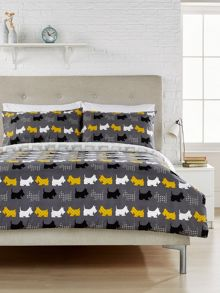 Humming Bird by Christy Scotty Dogs duvet cover set