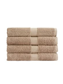 Christy Portobello bath sheet hessian