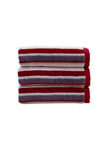Christy Portobello stripe towel
