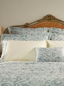 Christy Camelia oxford pillowcase pair
