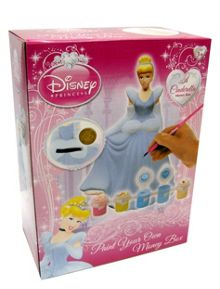 Cinderella Paint Your Own Money Box