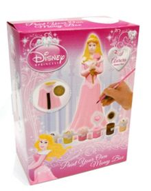 Sleeping Beauty Paint Your Own Money Box