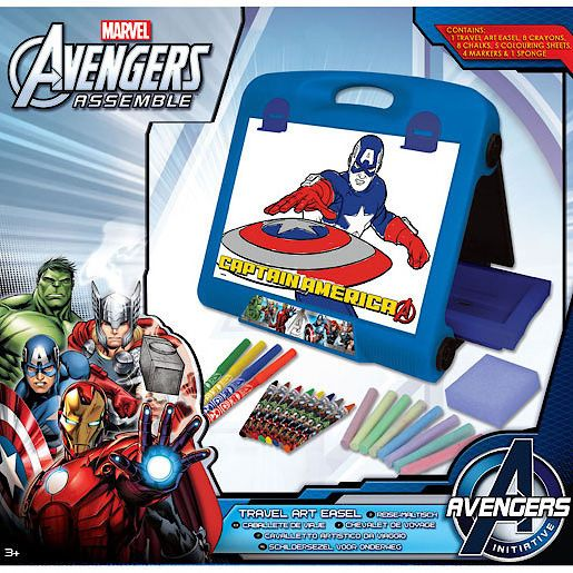 The Avengers Travel Art Easel