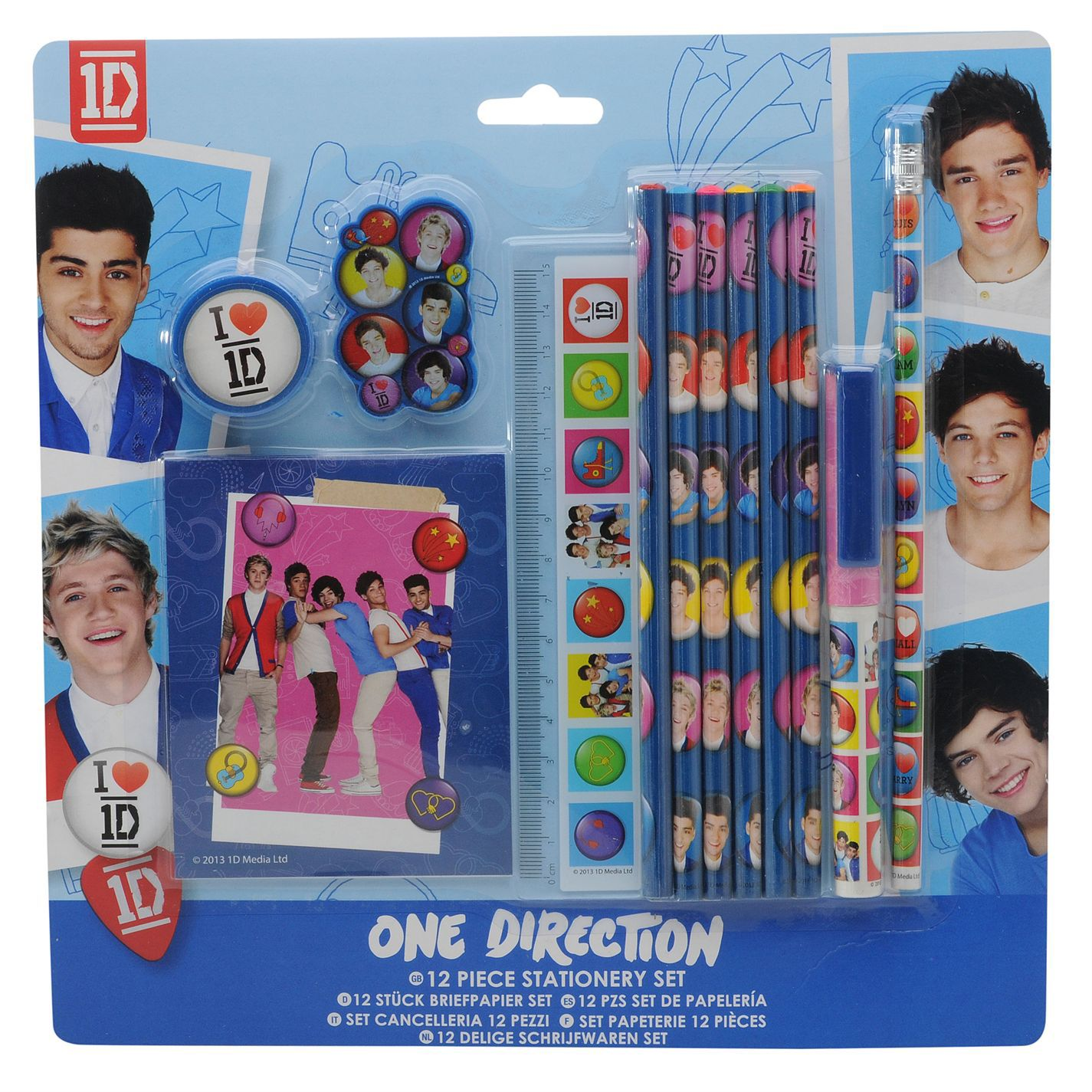 One Direction Super Stationery Set