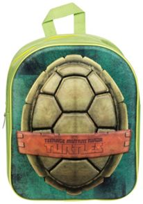 Teenage Mutant Ninja Turtles Kids 3D Backpack