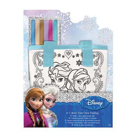 Disney Frozen Colour Your Own Totebag