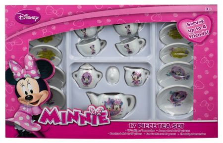 Minnie Mouse 17pc Tea Set