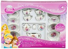 Disney Princesses 17pc Tea Set