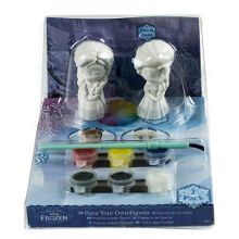 Paint your own elsa & anna figures