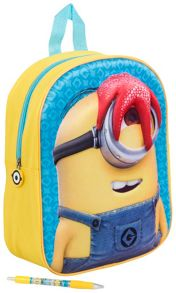 Minions Movie Kids 3D Junior Backpack