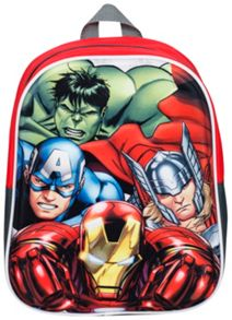 The Avengers Kids 3D Junior Backpack