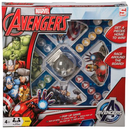 The Avengers Pop Up Game