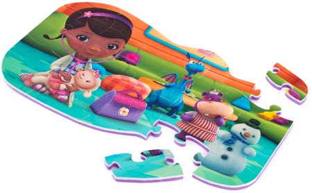 Doc McStuffins Foam Puzzle - 25 Pieces