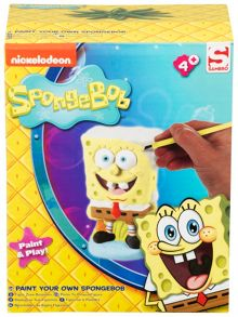 Spongebob Paint Your Own Figure