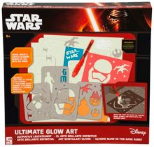 Star Wars The Force Awakens Ultimate Glow Art Set