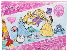 Disney Princesses Jelly Stickers Set