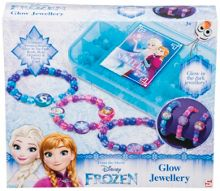Disney Frozen Glo Jewellery with Storage Case