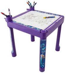 Disney Frozen Colouring Table