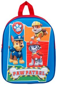 PAW PATROL Chase & Friends Blue Backpack