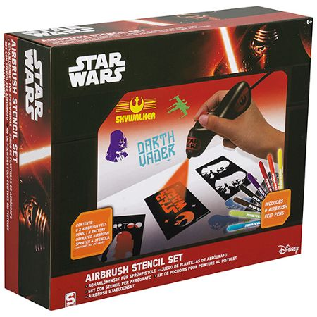 Star Wars Airbrush Tattoo Set
