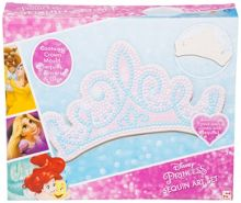 Disney Princess Sequin Art Tiara Set
