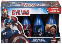 Captain America Civil War Bowling Set