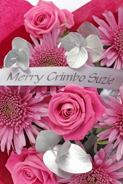 Floric Christmas blush bouquet