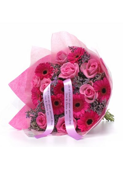 Floric Rose & germini bouquet