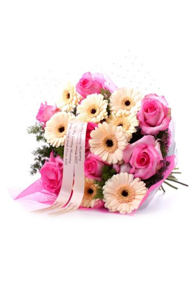 Floric Pink cafe bouquet