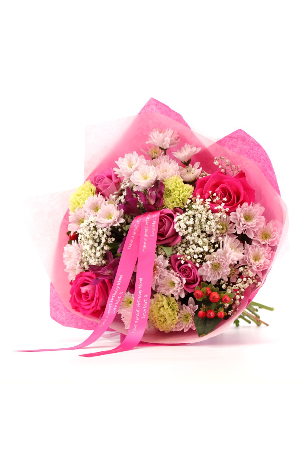 Image of Floric Birthday wishes bouquet