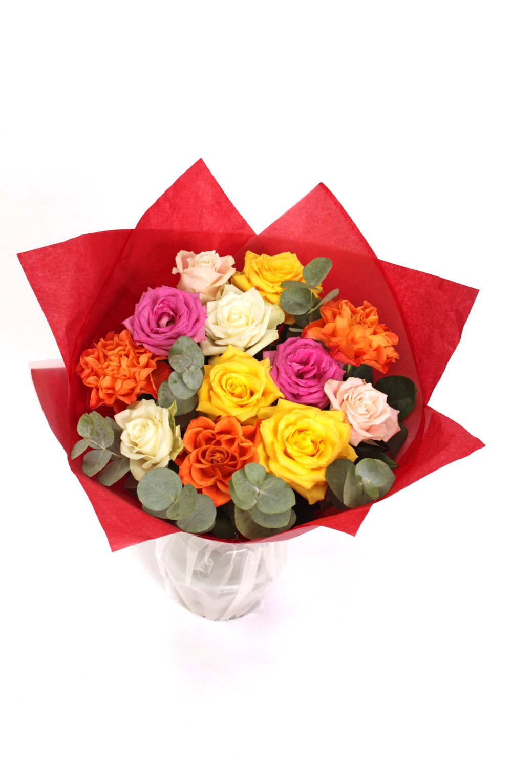 Image of Floric Colourful valentine rose bouquet
