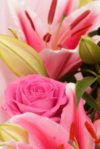 Floric Lily & rose bouquet