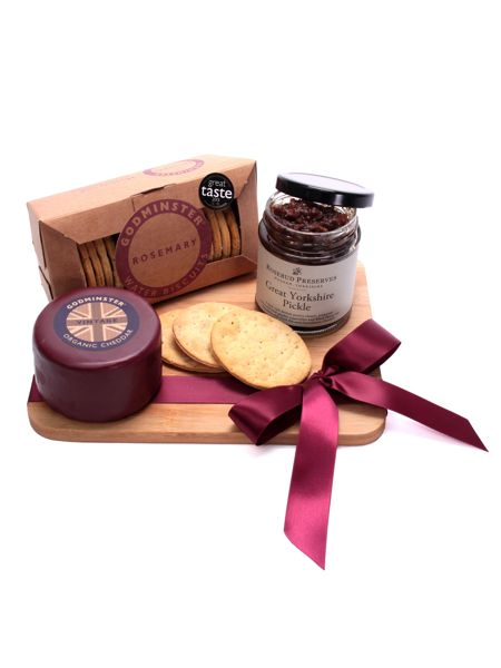 Floric Organic Vintage Cheddar Cheese & Pickle Platter