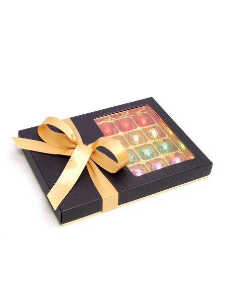 Floric Luxury chocolate truffles with gold bow