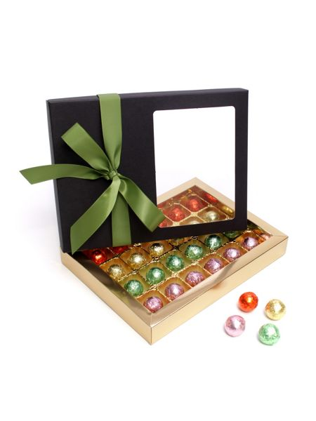 Floric Luxury chocolate truffles with green bow