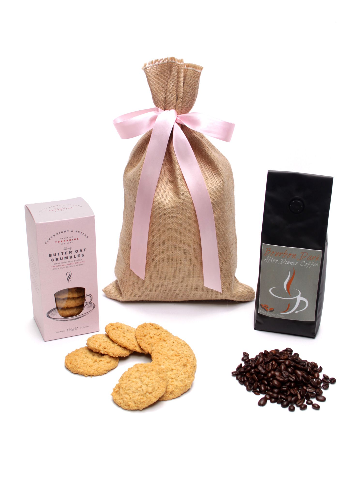 Floric Floric Coffee Beans & Biscuits Gift Sack