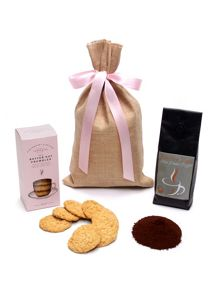 Floric Ground Coffee & Biscuits Gift Sack