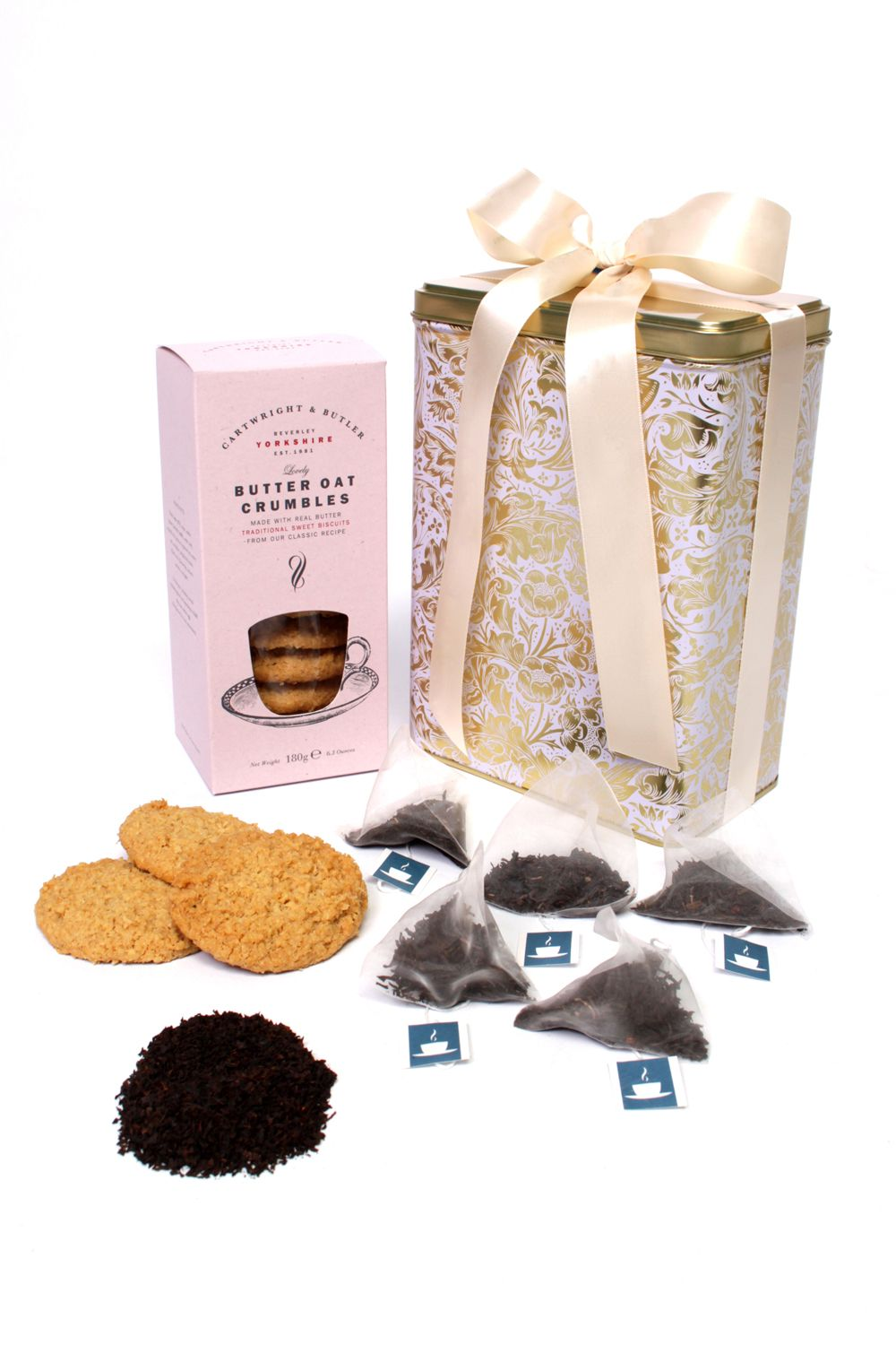 Floric Floric Earl Grey Tea With Butter Oat Crumble Biscuits