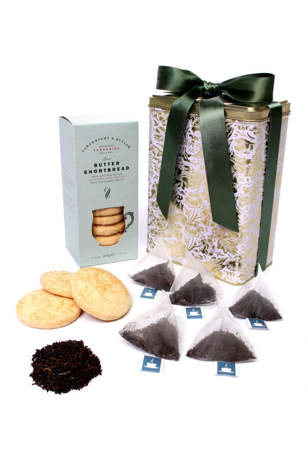 Floric Floric English Breakfast Tea With Shortbread Biscuits