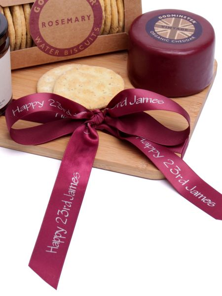 Floric Organic Vintage Cheddar Cheese & Chutney Platter