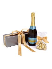 Floric Personalised prosecco wine & chocolate truffles g