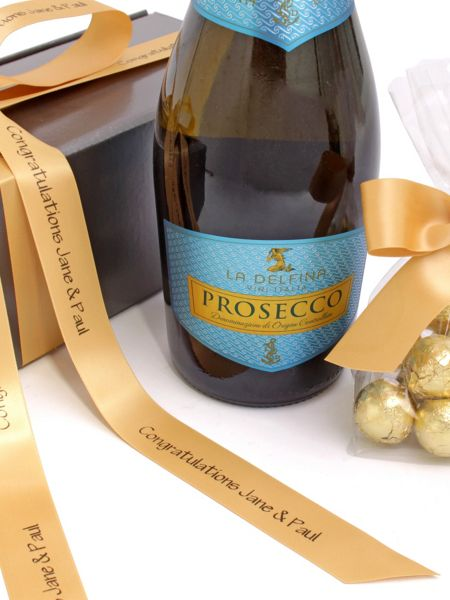 Floric Personalised prosecco wine & chocolates
