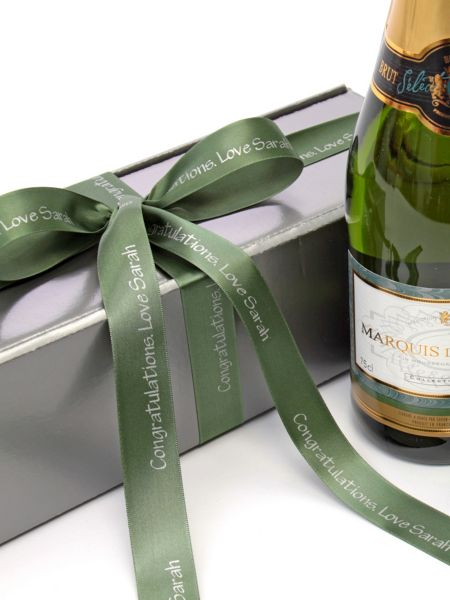 Floric Personalised sparkling saumur & chocolate truffle