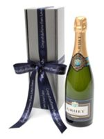 Floric Personalised gruet brut champagne gift box