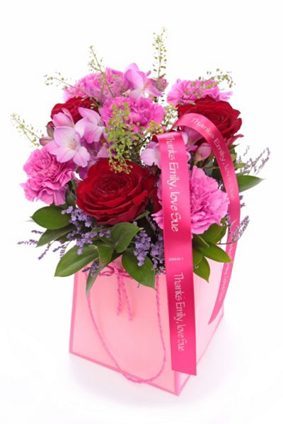 Floric Summer pink gift bag