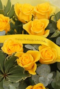 Floric Yellow rose bouquet
