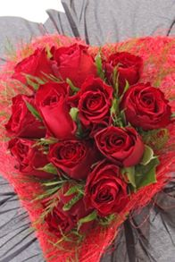 Floric Rose heart bouquet